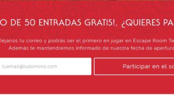 Sorteo Escape Room