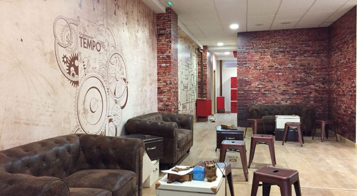 Instalaciones de escape room tempo en Sevilla