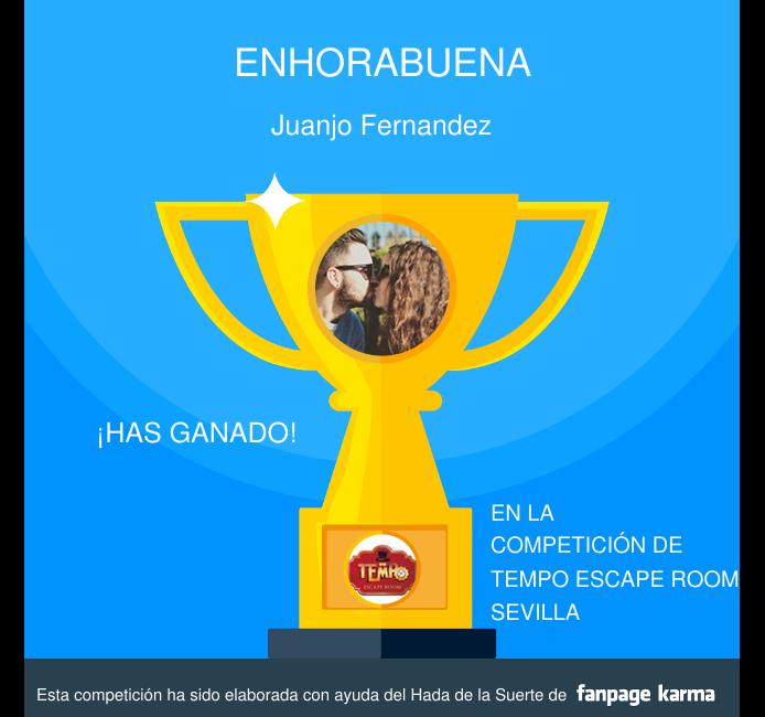ganador escaperoom tempo 250917