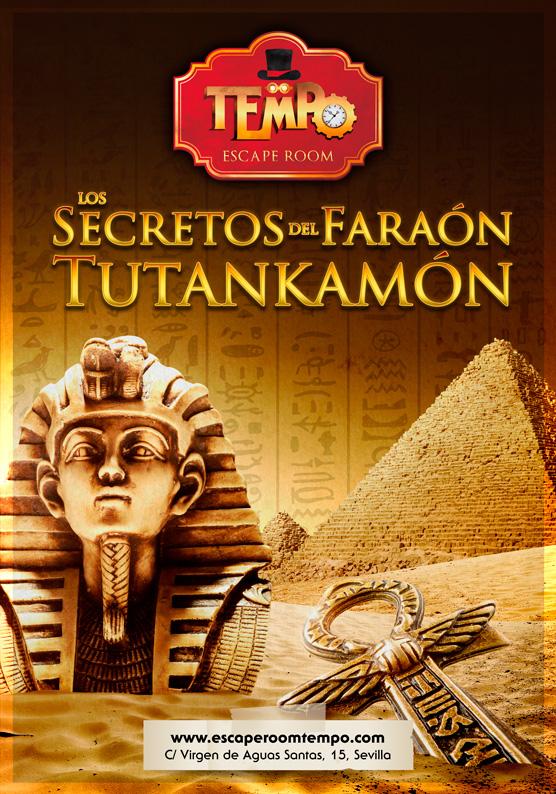 Escape Room Para Niños en Sevilla temática antiguo Egipto