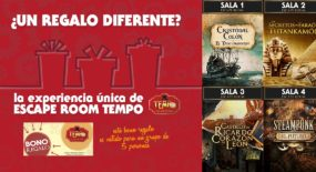 Regalar una experiencia Escape Room Tempo