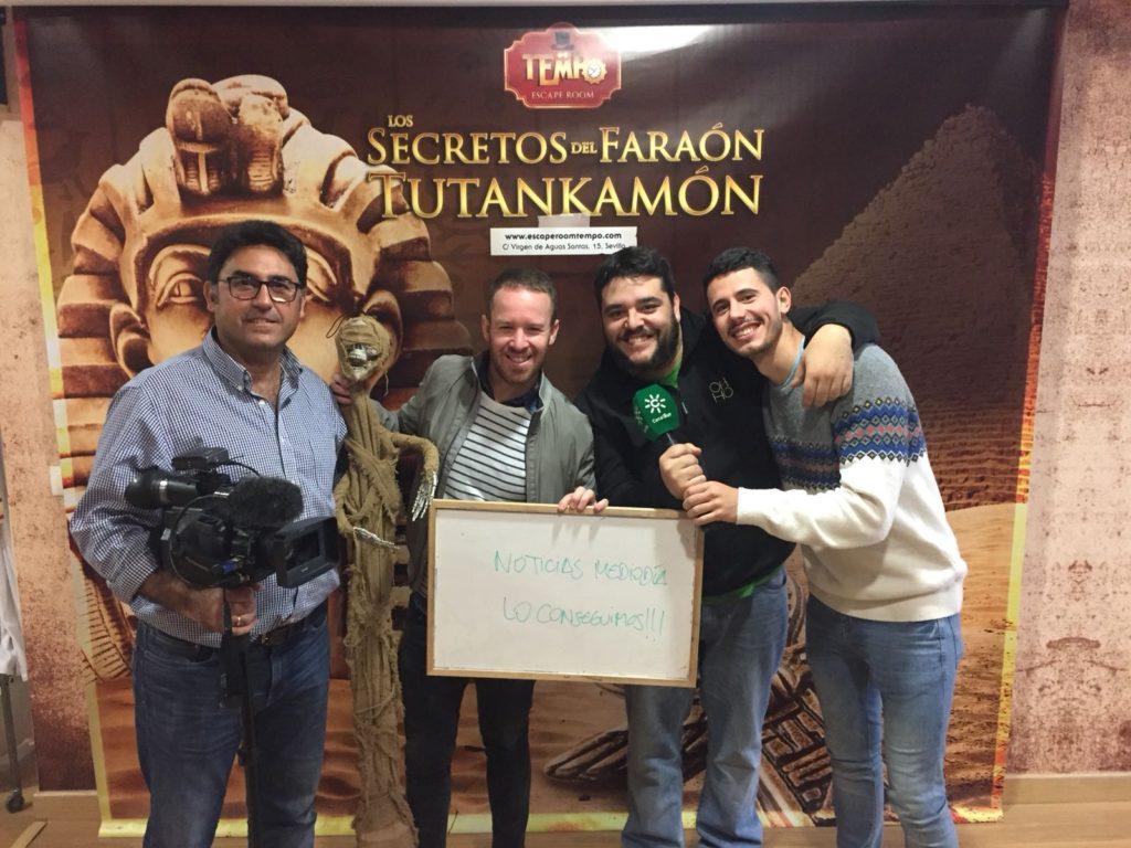 Escape Room Sevilla Noticias Mediodía