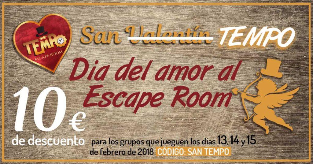 Oferta San Valentin Sevilla. Escape Room