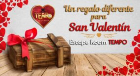 Regalo San valentín Sevilla. Escape Room