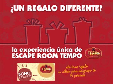 Bono Regalo Experiencia Escape Room Sevilla