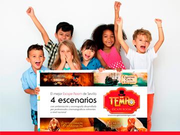 escape room para niños en Sevilla