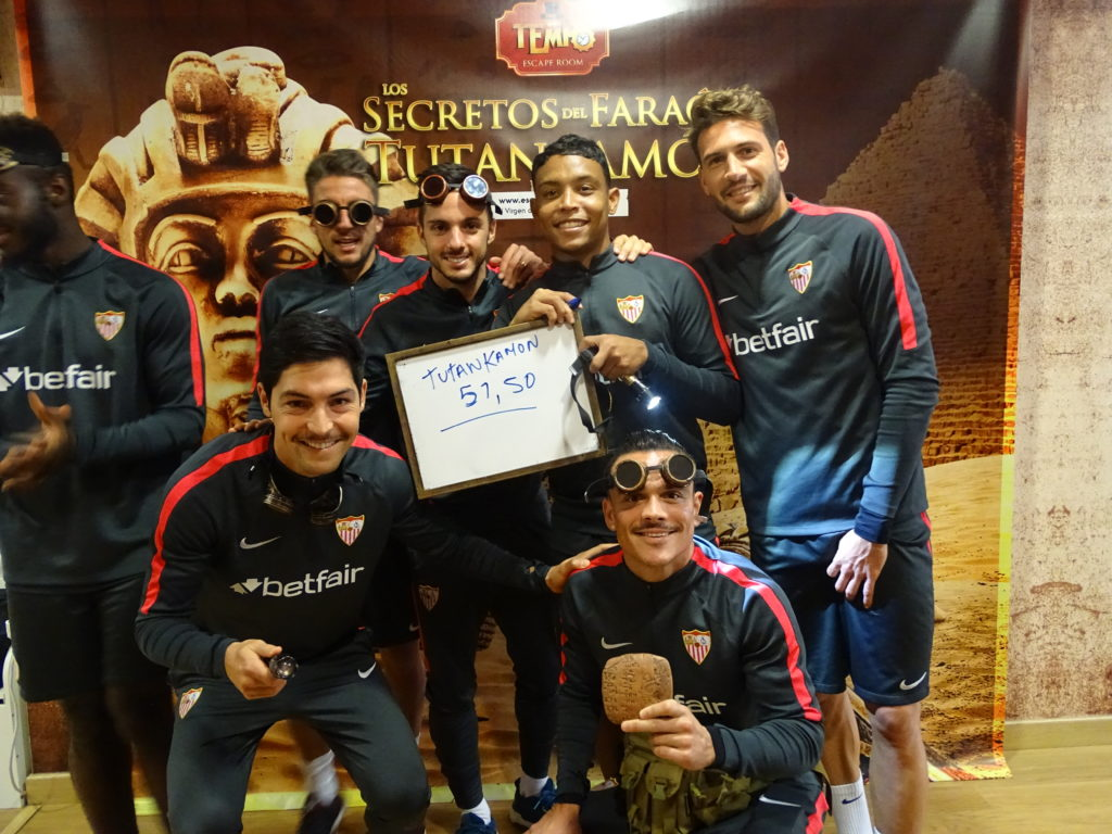 Sevilla F.C. Escape Room Tutankamón