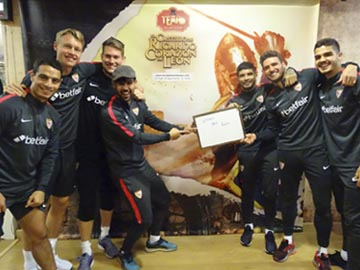 sevilla fc en tempo escape room