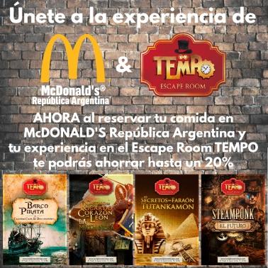 Celebraciones En Sevilla. TEMPO y Mcdonalds