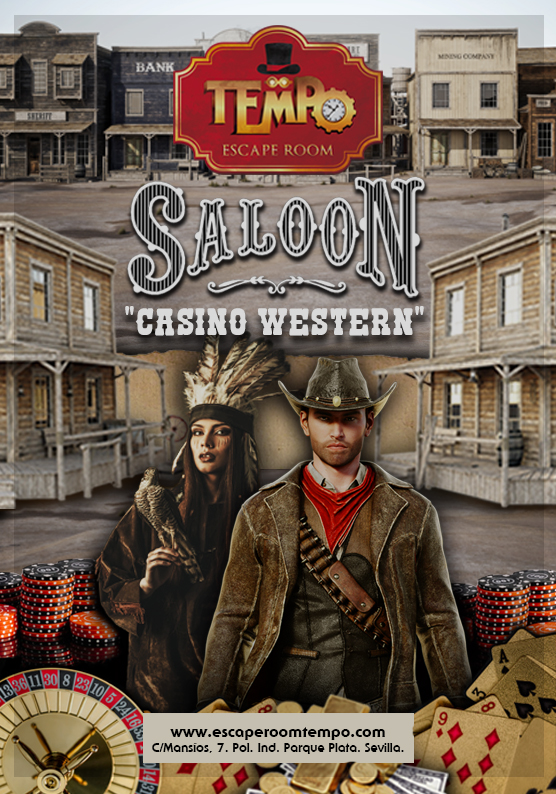 Escape Room en Sevilla Saloon Casino Western
